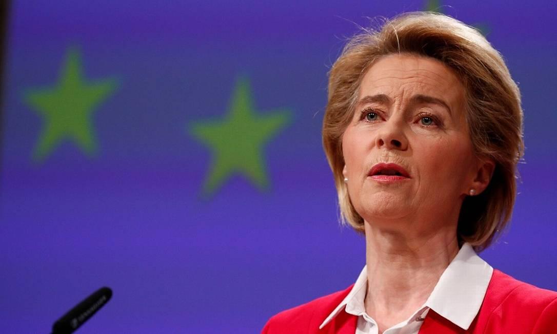 A presidente da Comissão Europeia, Ursula von der Leyen. Foto: FRANCOIS LENOIR / AFP