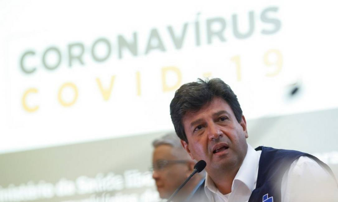 O ministro da Saúde, Luiz Henrique Mandetta Foto: Adriano Machado/Reuters