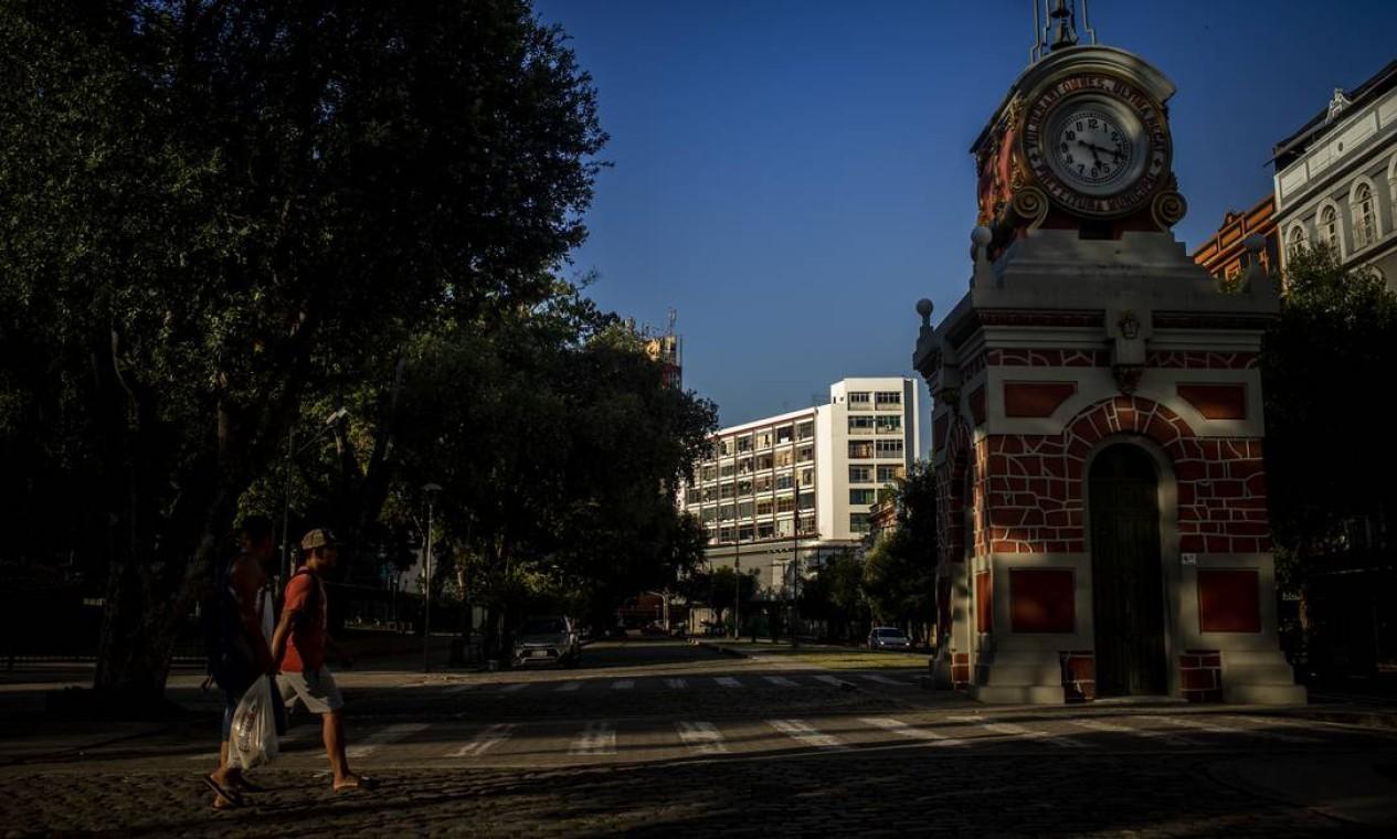 Manaus. Escolas e comércio não funcionam; Governo Federal fechou as fronteiras com Colômbia, Peru e Venezuela Foto: Raphael Alves / Agência O Globo