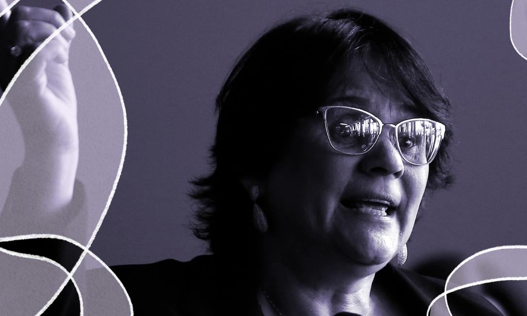 Ministra da Mulher, da Família e dos Direitos Humanos, Damares Alves Foto: Jorge William / Agência O GLOBO