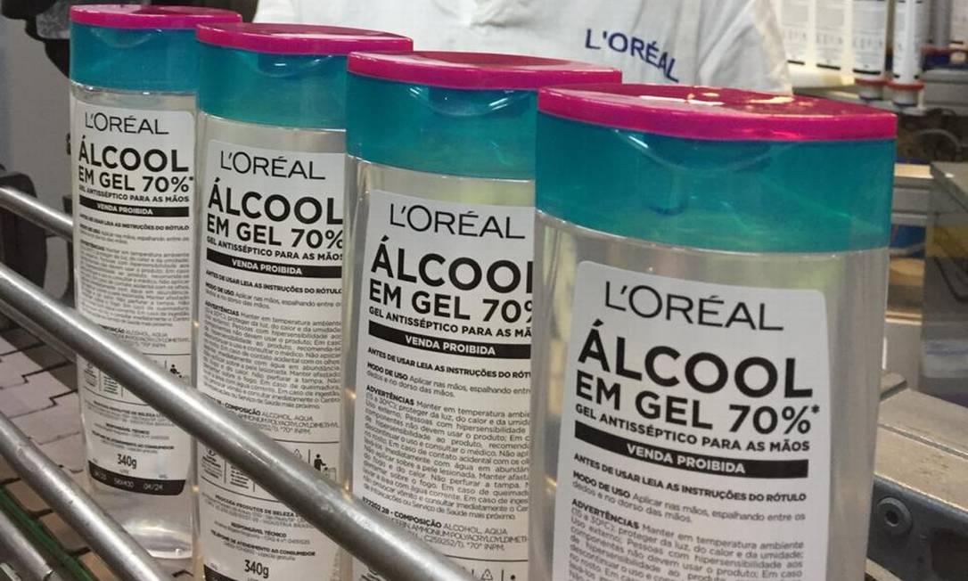 Álcool gel pode ser usado para higienizar as mãos e evitar o coronavírus Foto: Divulgação