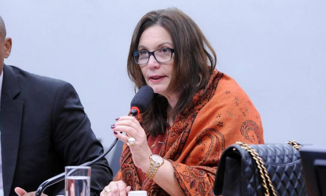A deputada Bia Kicis Foto: Cleia Viana/Câmara dos Deputados