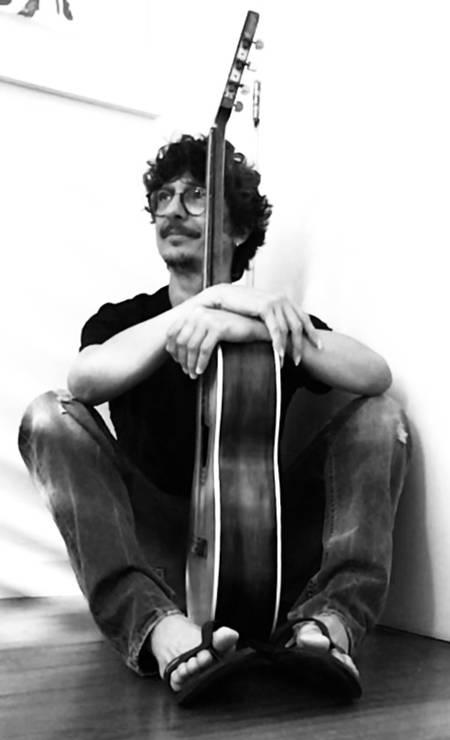 O músico Pedro Luís Foto: Jorge Bispo