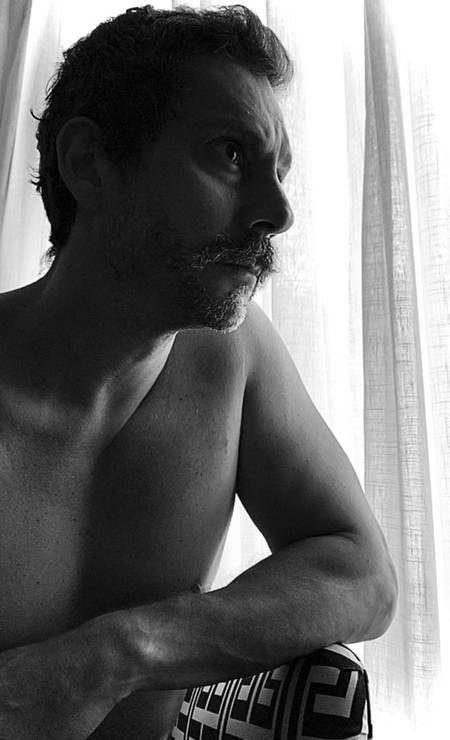 O ator Alexandre Nero Foto: Jorge Bispo