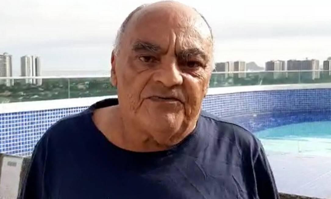 Francisco Barbosa, de 78 anos, mora no Vidigal, na Zona Sul do Rio Foto: Divulgação/Prefeitura do Rio