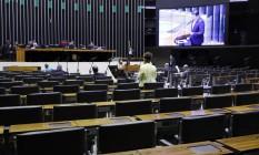 """Sessão virtual da Câmara para votar """"Orçamento de guerra"""" Foto: Cleia Viana / Câmara dos Deputados"""