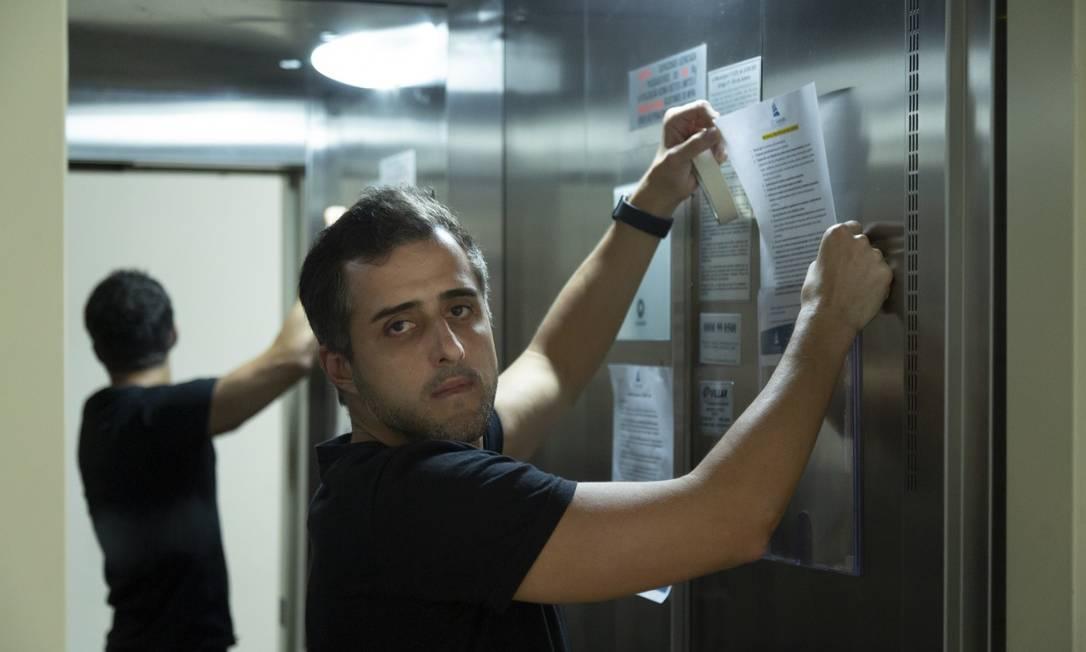 Lucas Tostes é síndico em 10 condomínios Foto: Leo Martins / Agência O Globo
