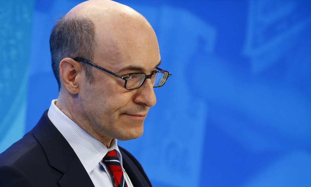 Kenneth Rogoff, ex-economista-chefe do FMI Foto: Ruben Sprich / Agência O Globo