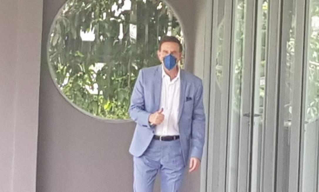 Marcelo Crivella segue sem fazer o teste específico que diagnostica seele foi ou não infectado Foto: Luiz Ernesto Magalhães