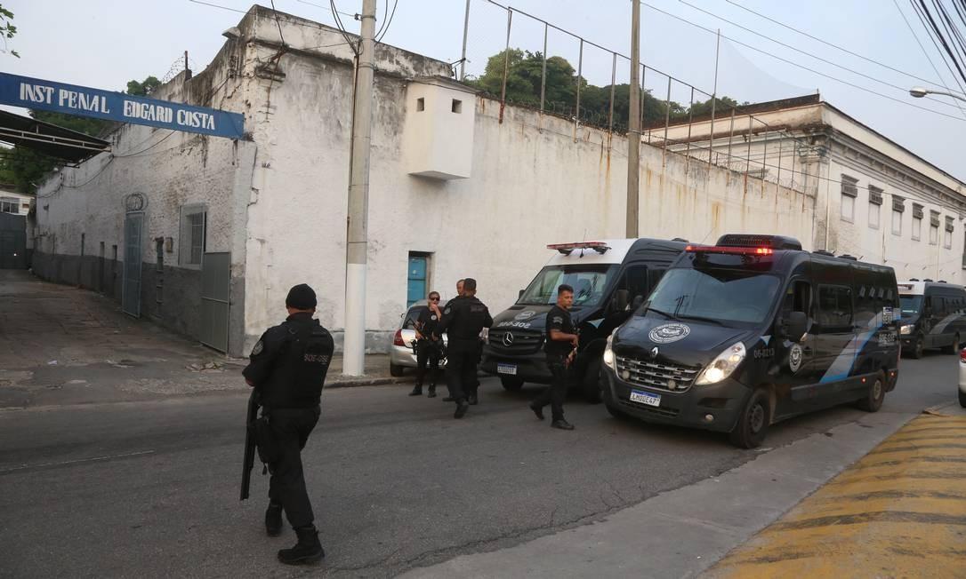 No Rio, há 55 mais chances de ter tuberculose em um presídio do que fora da cadeia Foto: Fabiano Rocha