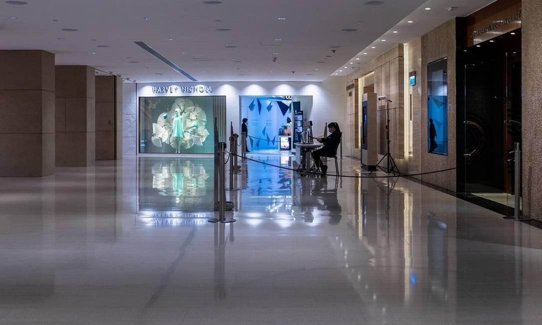 Shoppings fechados representam riscos para investidores. Foto: MAY JAMES / AFP