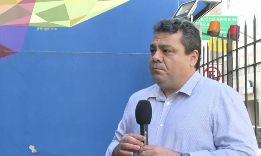 O médico Alexandre Chieppe Foto: TV Globo / Reprodução