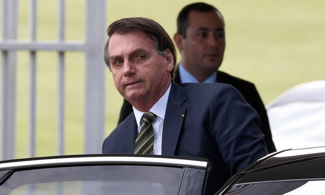 O presidente Jair Bolsonaro 06/04/2020 Foto: EVARISTO SA / AFP