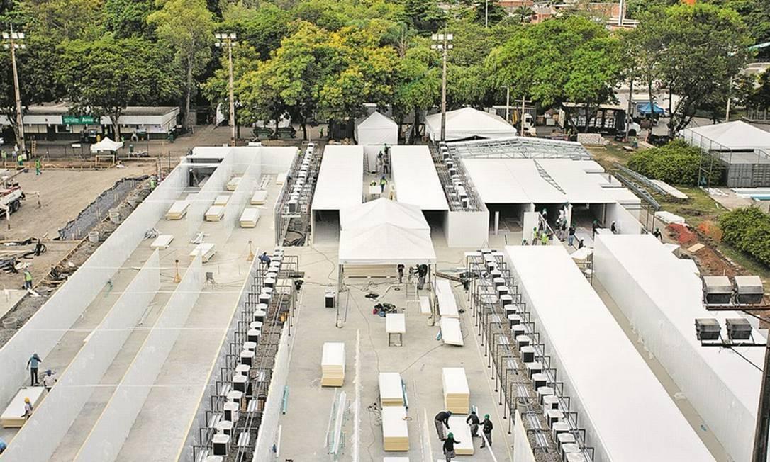 Fiocruz terá 200 leitos e vai produzir 1 milhão de testes Foto: Agência O Globo