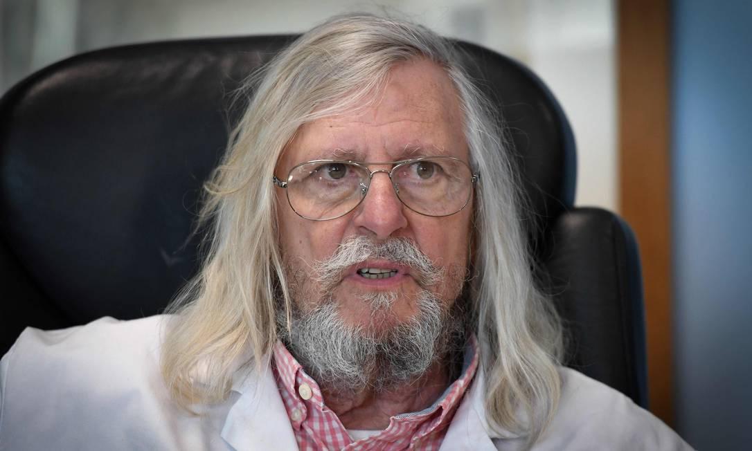 Estudo do francês Didier Raoult colocou a cloroquina no centro das pesquisas contra o tratamento da Covid-19 Foto: GERARD JULIEN / AFP