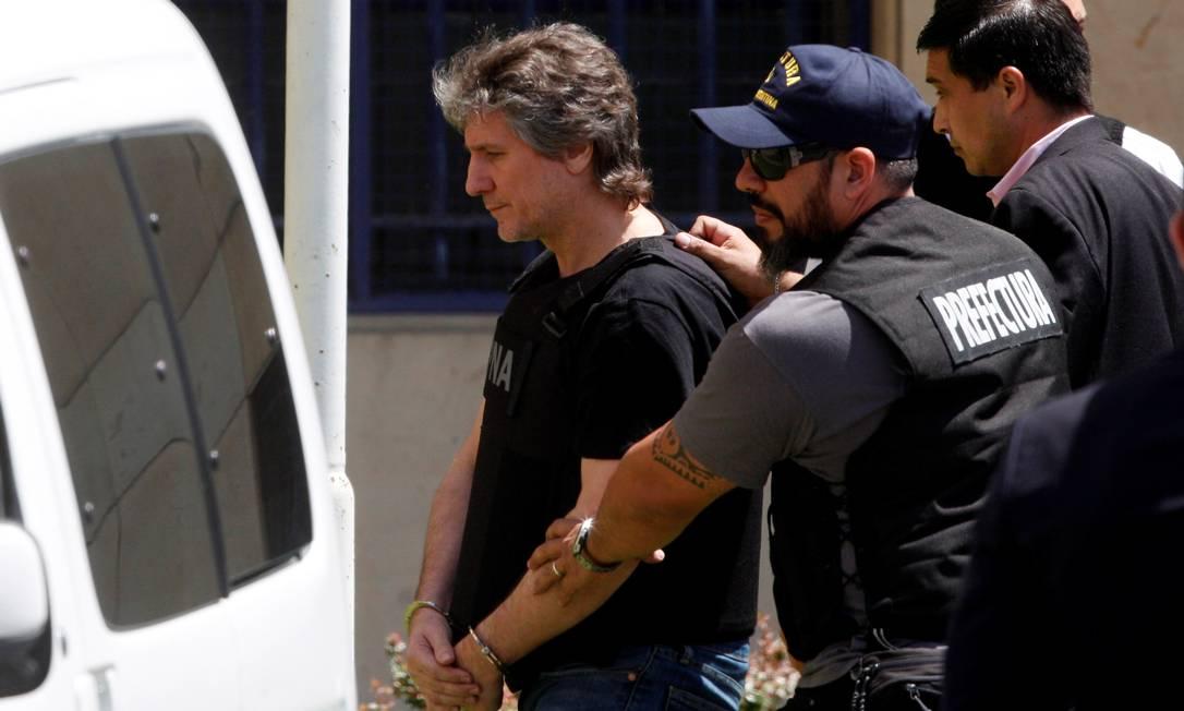 Ex-vice-presidente argentino Amado Boudou foi condenado em 2018 Foto: MARTIN ACOSTA / Reuters