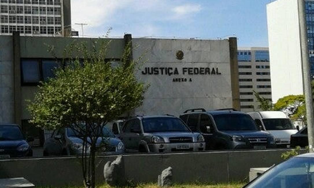 Prédio da Justiça Federal em Brasília Foto: Rede Social