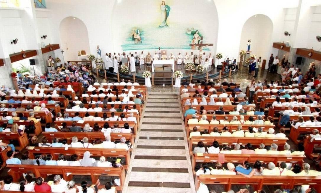 Em decreto, governo permitiu que atividades religiosas fossem consideradas essenciais Foto: Agência O Globo