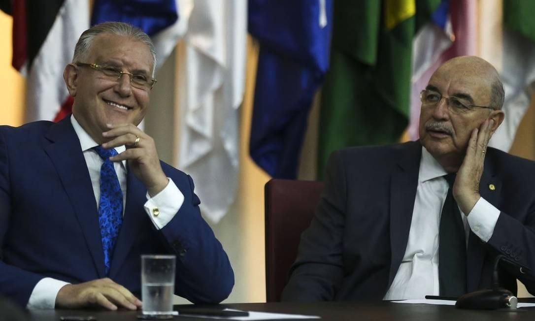 Alberto Beltrame e Osmar Terra Foto: Agência Brasil