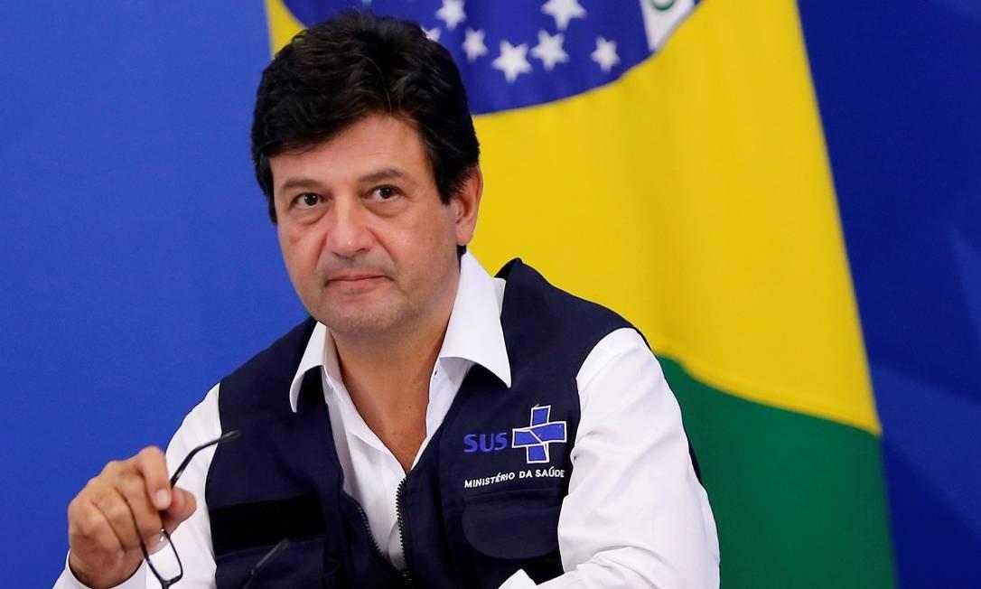 O ministro da Saúde, Luiz Henrique Mandetta 07/04/2020 Foto: ADRIANO MACHADO / REUTERS