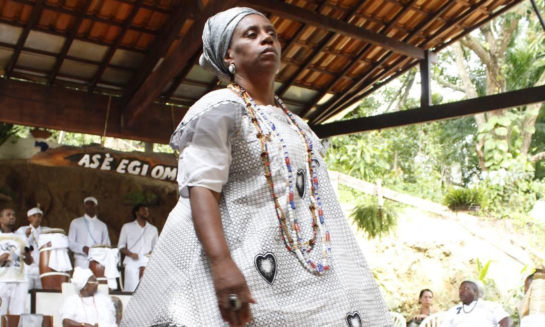 A ialorixá Wanda d'Omolú Foto: Divulgação/Cristiane Cotrim