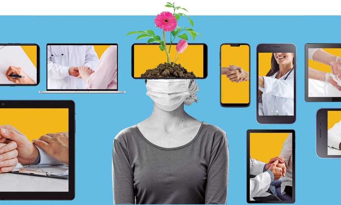 Site de O Globo traz uma série de reportagens sobre o câncer Foto: Felipe Nadaes