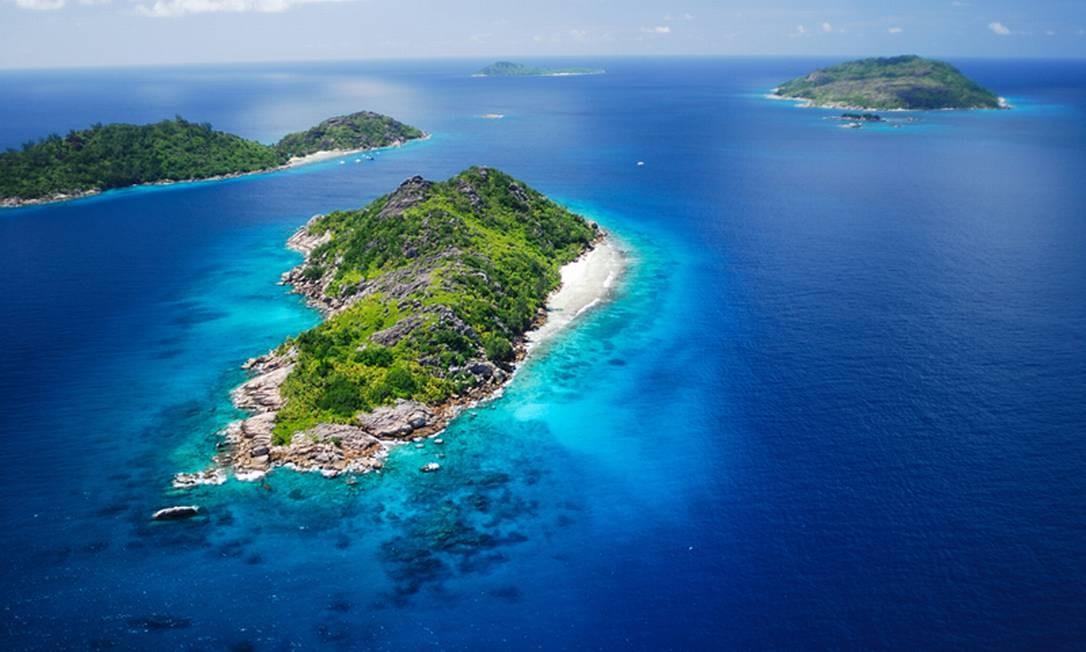 Uma das 115 ilhas que compõe o arquipélago de Seychelles Foto: Raymond Sahuquet / Seychelles Tourism Bureau / Divulgação