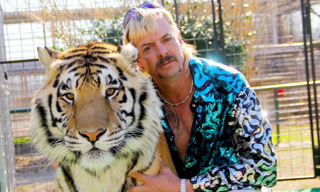 Joe Exotic é protagonista da série 'Máfia dos tigres' Foto: AFP / NETFLIX