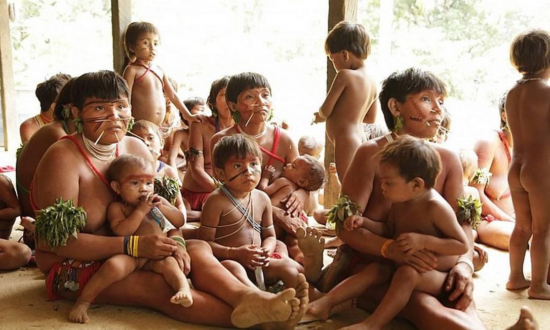 Primeiro caso de contaminação entre yanomamis preocupa Distrito de Saúde Indígena (Dsei) Foto: Instituto Socioambiental