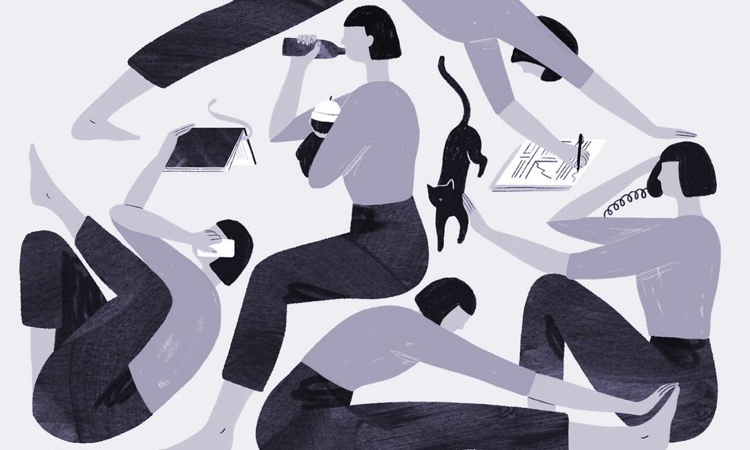 Em artigo, a escritora americana Brigid Schulte defende que a obsessão pelo trabalho presencial prejudica as mulheres. Ela afirma esperar que, depois que a pandemia de Covid-19 for embora, o mercado de trabalho repense suas escolhas Foto: Monica Garwood / NYT