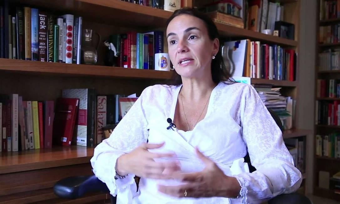 A educadora Ilona Becskeházy, exonerada pelo ministro Milton Ribeiro Foto: Divulgação/ Instituto Alfa e Beto