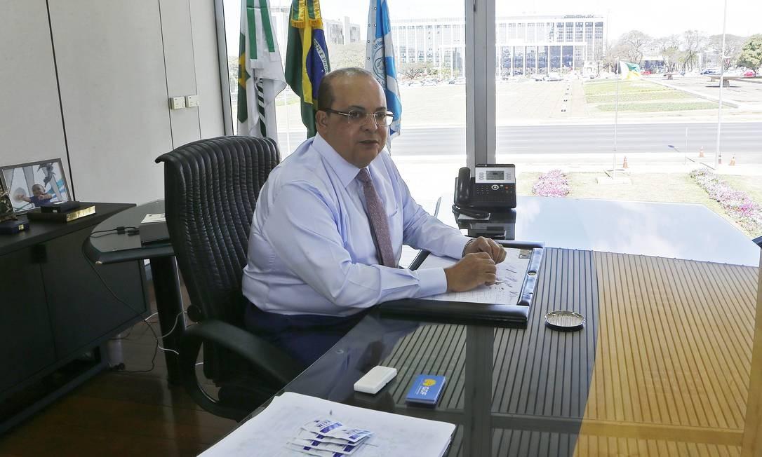 Governador do Distrito Federal, Ibaneis Rocha Foto: Jorge William / Agência O Globo