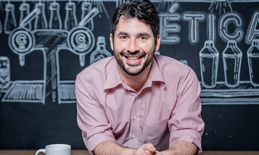Gustavo Maia, fundador do aplicativo Colab: dados ajudam prefeituras a monitorar casos suspeitos Foto: Leo Orestes / Divulgação