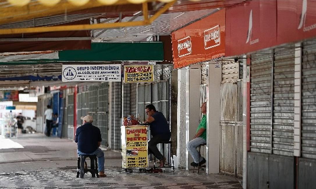 Com fechamento de comércio, grandes empresas adotam iniciativas para financiar as pequenas e suas redes de fornecedores Foto: Arquivo/Agência O Globo
