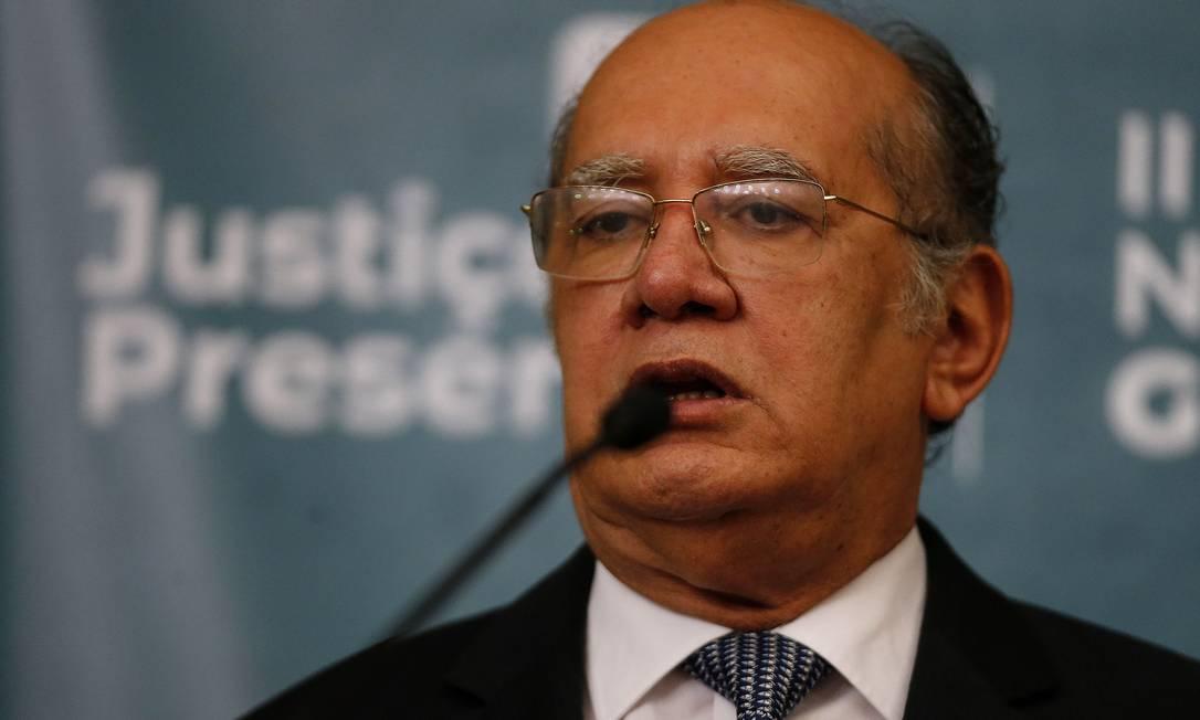 Decisão foi por liminar dada pelo ministro do STF Foto: Jorge William / Agência O Globo