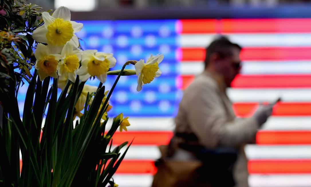 País mais atingido pela covid-19, EUA vê população dividida em relação ao vírus Foto: ANGELA WEISS / AFP