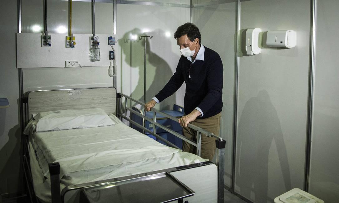 O prefeito Marcelo Crivella Foto: Guito Moreto / Agência O Globo / 08-0-2020