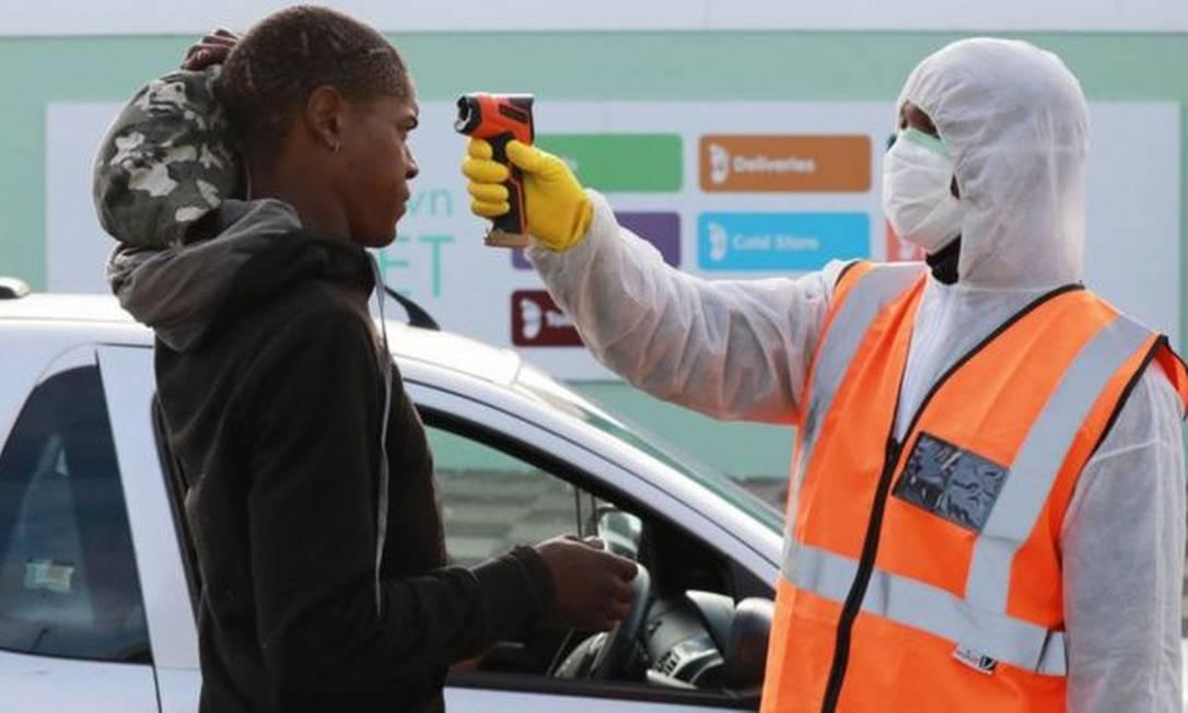 Os casos de coronavírus pararam de crescer intensamente na África do Sul nas últimas semanas Foto: Getty Images