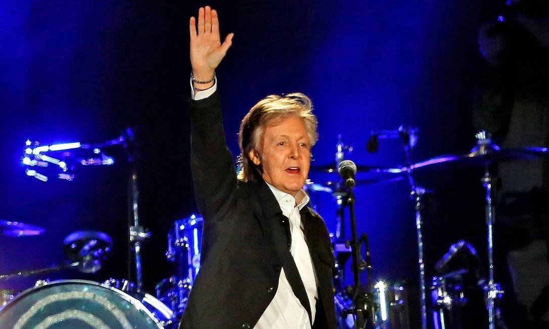 SC Rio de Janeiro (RJ) 24/03/2019. Show de Paul McCartney em Buenos Aires Foto: Ricardo Pristupluk / LA NACION Foto: Ricardo Pristupluk / Agência O Globo