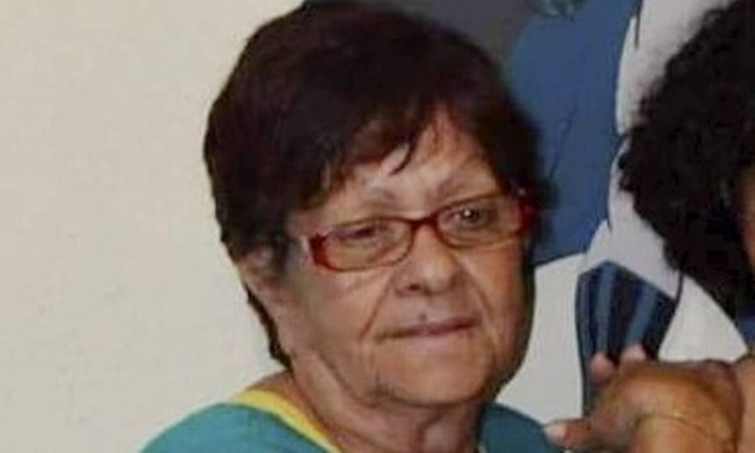 Deusalina: aposentada foi transferida para hospital de Volta Redonda, onde morreu Foto: Reprodução
