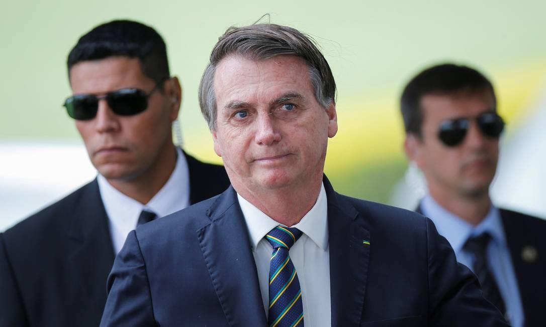 O presidente Jair Bolsonaro 14/04/2020 Foto: ADRIANO MACHADO / REUTERS
