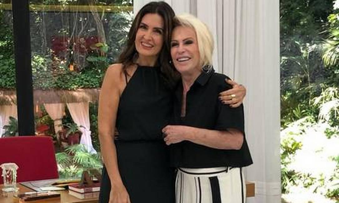 Ana Maria Braga terá quadro no 'Encontro com Fátima Bernardes' Foto: Divulgação