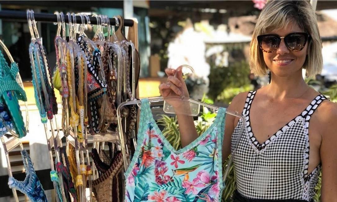 Expositores venderão seus produtos em versao on-line da feira Retoke. Na foto, Liana Carvalho, da marca Caravela Rio Foto: Divulgação