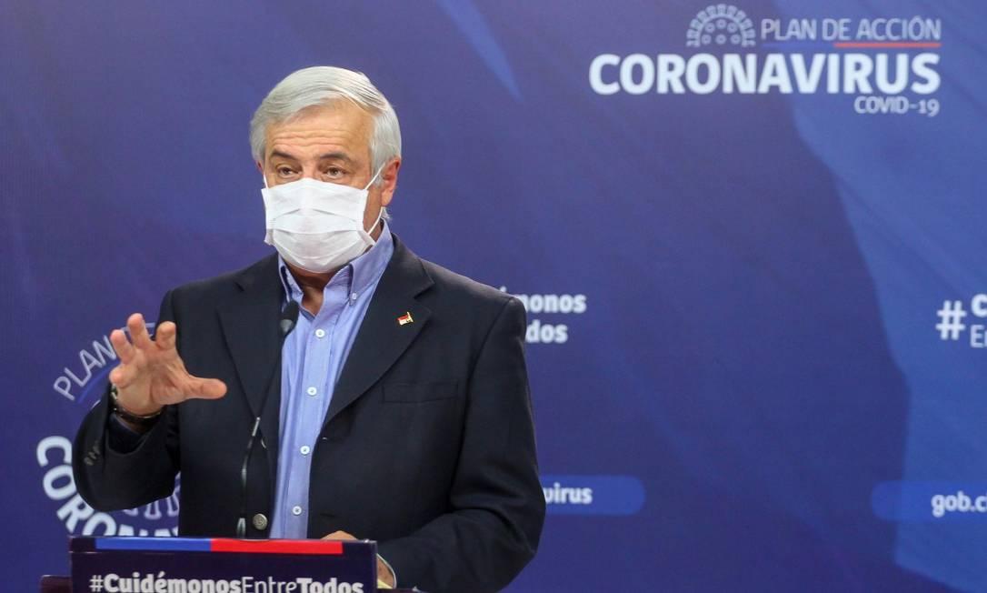 Ministro da Saúde do Chile, Jaime Mañalich Foto: Ministério da Saúde do Chile