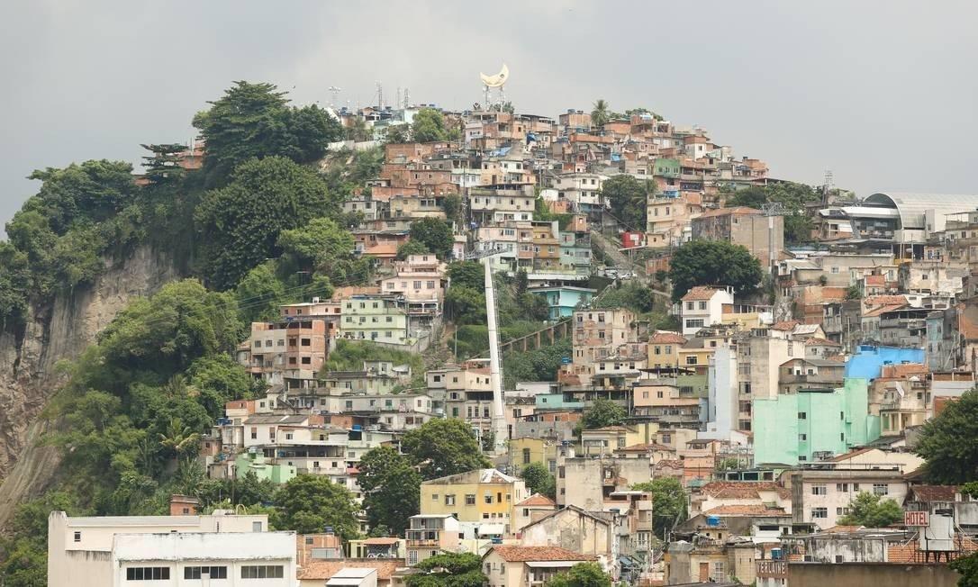 Vista do Morro da Providência Foto: Reprodução