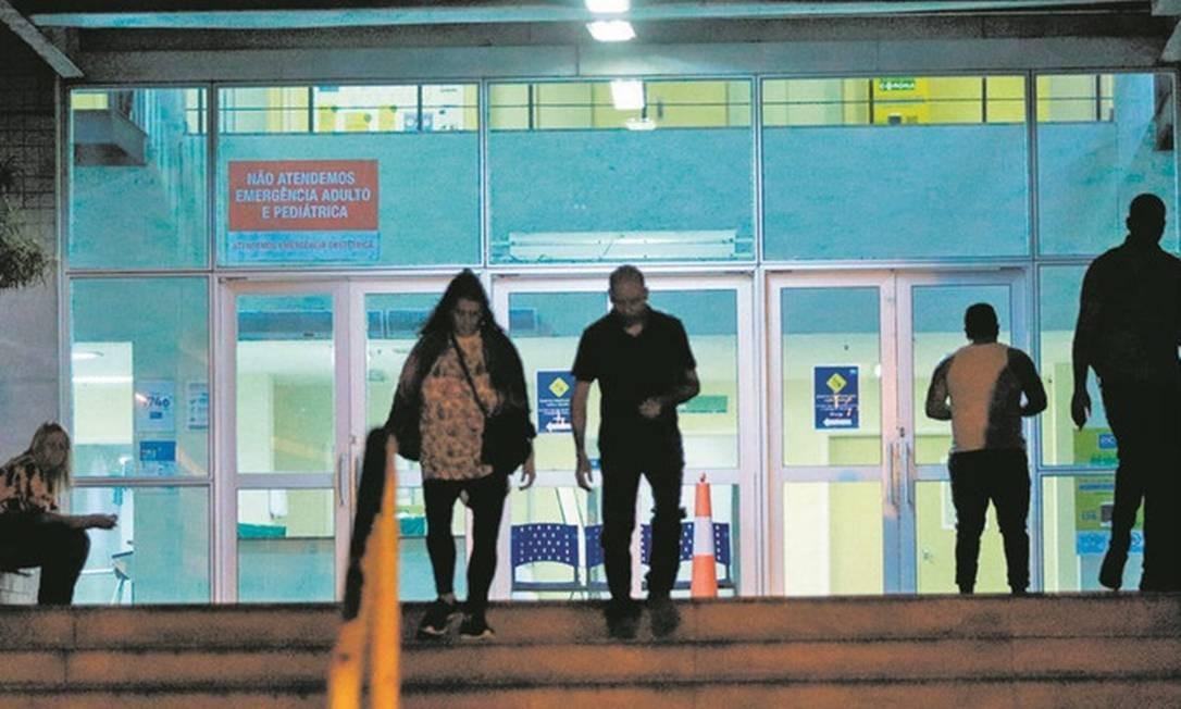 No hospital de Acari, pelo menos 13 profissionais de saúde testaram positivo Foto: Agência O Globo