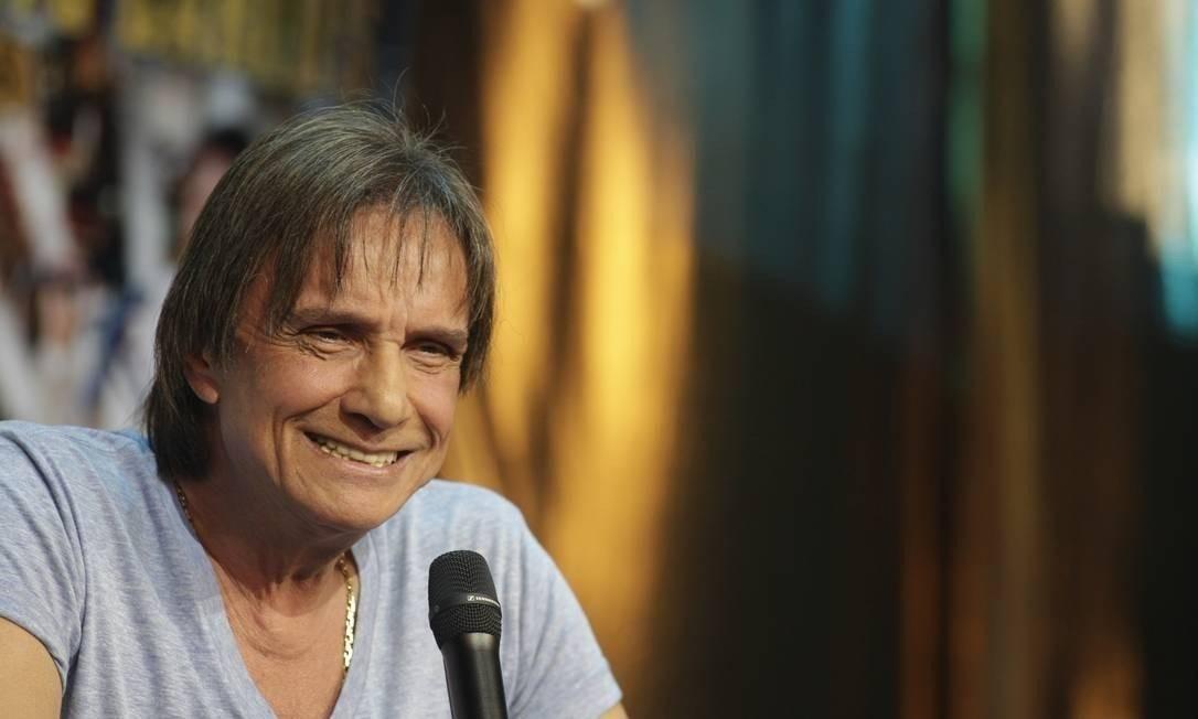 Roberto Carlos Foto: Guilherme Scarpa/ Agência O Globo