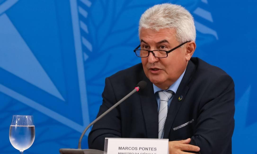 O ministro da Ciência e Tecnologia, Marcos Pontes. Foto: José Dias/PR