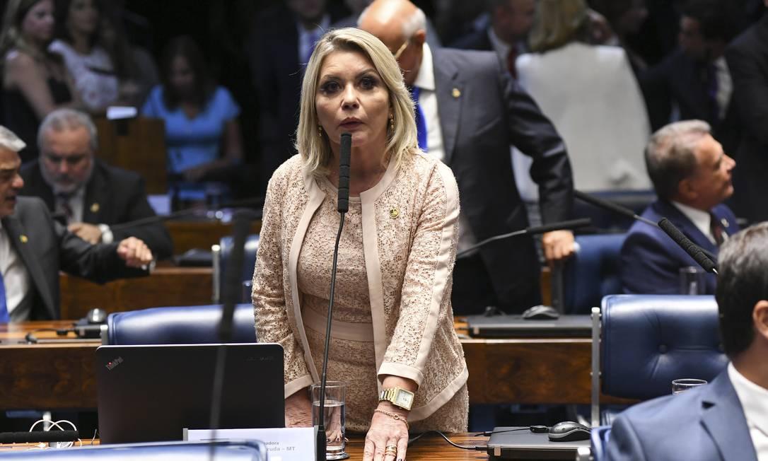 Senadora Selma Arruda (Podemos-MT) foi cassada pelo TSE Foto: Jefferson Rudy / Jefferson Rudy/Agência Senado