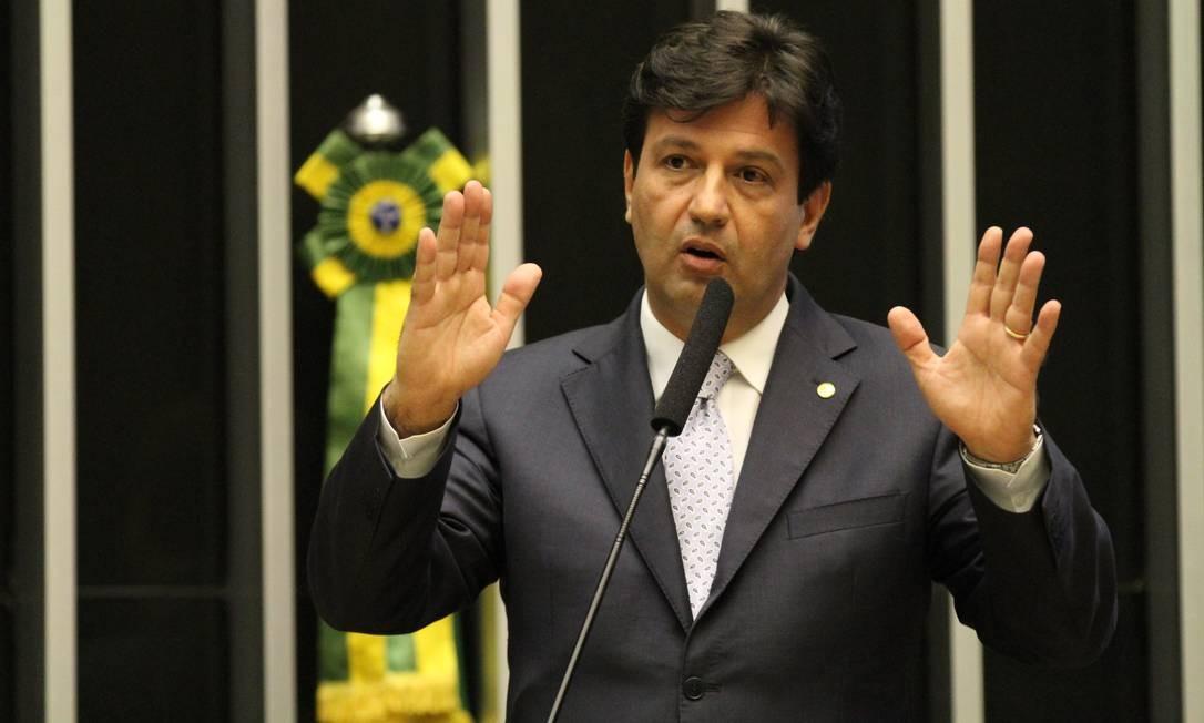 Luiz Henrique Mandetta (DEM) foi eleito deputado federal pela primeira vez em 2011 e reeleito em 2015. Foto: Divulgação